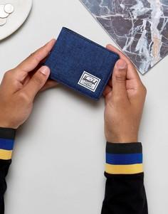Бумажник двойного сложения Herschel Supply Co Hank - Темно-синий