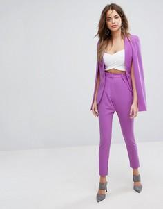 Строгие брюки Lavish Alice - Фиолетовый
