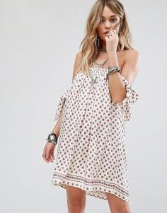 Платье с платочным принтом Tularosa - Мульти