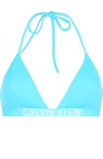 Треугольный бра с логотипом бренда Calvin Klein