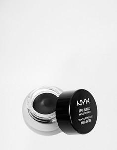 Подводка-мусс NYX Professional Make-Up Epic Black - Черный