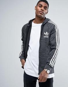 Худи черного цвета на молнии adidas Originals California BK5891 - Черный