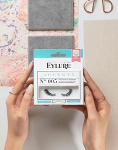 Накладные ресницы Eylure Accents 3/4 - No. 005 - Черный