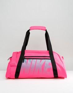 Большая розовая спортивная сумка Nike - Розовый