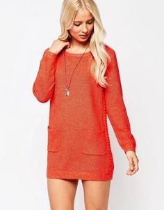 Платье-джемпер See U Soon - Красный