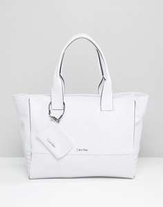 Большая сумка-тоут CK Jeans EW - Белый Calvin Klein