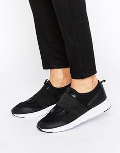 Кроссовки на резинке Missguided - Черный