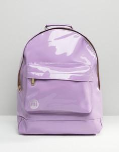 Сиреневый лакированный рюкзак Mi-Pac - Фиолетовый