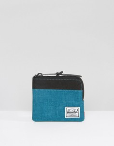 Синий бумажник на молнии Herschel Supply Co Johnny - Синий
