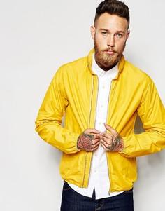 Куртка с двумя молниями YMC - Желтый