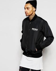 Куртка-пилот Heros Heroine - Черный
