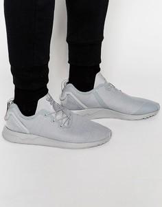 Кроссовки с асимметричным дизайном adidas Originals ZX Flux S79052 - Серый