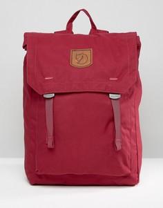 Бордовый рюкзак Fjallraven Foldsack 16L - Красный
