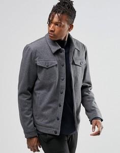 Шерстяная куртка ADPT - Серый