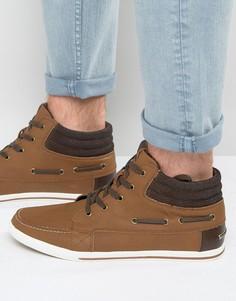 Высокие светло-коричневые кроссовки Aldo Kayci - Рыжий