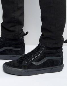 Черные кроссовки Vans Sk8-Hi MTE V00XH4JUB - Черный