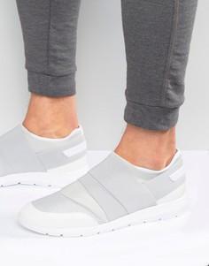 Кроссовки с эластичными ремешками Calvin Klein Senior - Серый