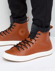 Светло-коричневые кроссовки Converse Winterised Chuck Taylor All Star II 153572C - Рыжий