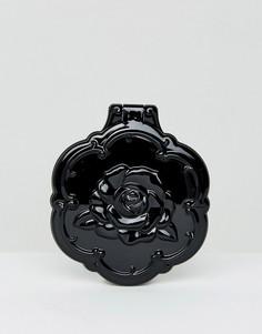 Компактное зеркальце в форме розы Anna Sui - Бесцветный