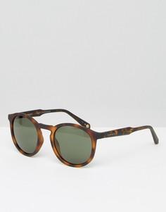 Круглые солнцезащитные очки Ted Baker - Коричневый