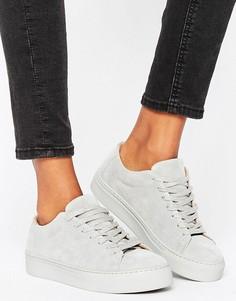 Замшевые кроссовки Selected Donna - Серый