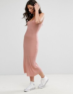 Платье-майка миди Brave Soul - Розовый