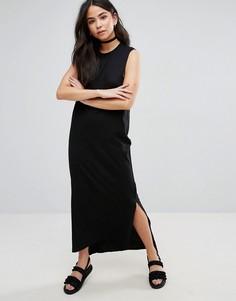 Платье макси без рукавов Cheap Monday Twine - Черный