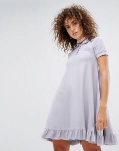 Платье-поло мини А-силуэта Puma X Fenty - Розовый
