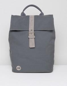 Парусиновый рюкзак темно-серого цвета Mi-Pac - Серый