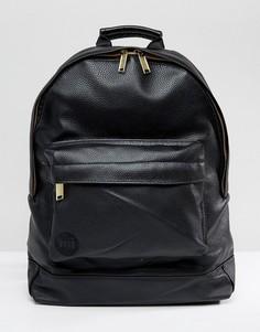 Черный рюкзак из искусственной кожи Mi-Pac - Черный