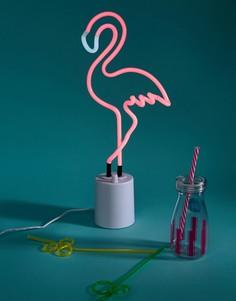 Большой неоновый светильник в виде фламинго Sunnylife - Мульти