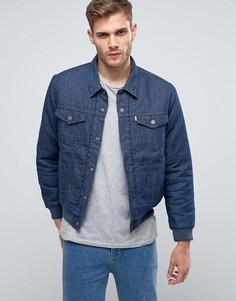 Университетская куртка Levis Trucker - Синий