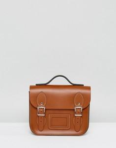 Маленький рюкзак Leather Satchel - Рыжий