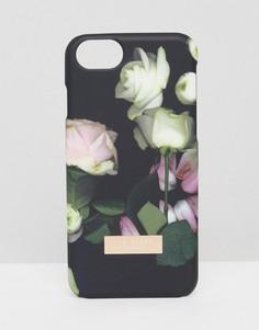 Чехол для Iphone 7 с цветочным принтом Ted Baker - Мульти
