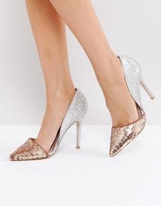 Туфли-лодочки с пайетками Miss KG Andrea - Мульти