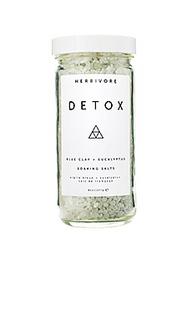 Соль для ванн detox - Herbivore Botanicals