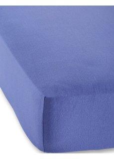 Трикотажная натяжная простыня для матраса высотой 40 см (синий) Bonprix