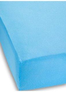 Трикотажная натяжная простыня для матраса высотой 40 см (нежно-голубой) Bonprix