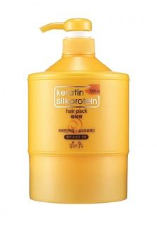 Маска для волос Flor de Man Питательная с протеинами шелка Keratin 1000 мл Питательная с протеинами шелка Keratin 1000 мл
