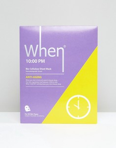 Тканевая маска для лица When 10:00PM - Бесцветный Beauty Extras