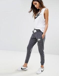 Серые трикотажные штаны Nike Vintage - Мульти