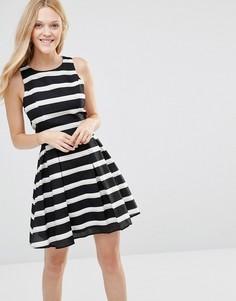 Платье в полоску Greylin Ava - Черный