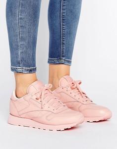 Розовые кроссовки Reebok Classic Nylon X Spirit - Розовый