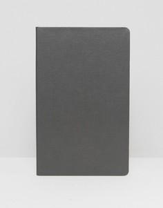 Небольшой черный блокнот с листами в линейку Paul Smith - Мульти