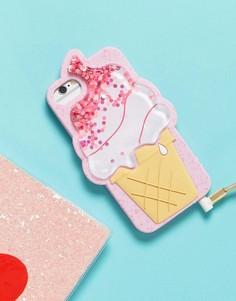 Силиконовый чехол для iPhone 6/6S/7 в виде мороженого Skinnydip - Мульти
