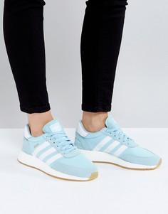 Синие кроссовки adidas Originals Iniki - Синий