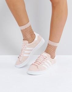 Бледно-розовые кроссовки adidas Originals Campus - Розовый