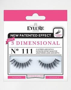 Накладные ресницы Eylure 3 Dimensional - No. 111 - Черный