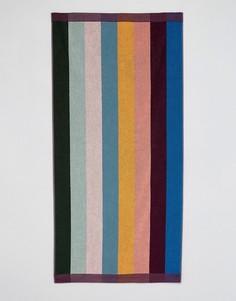 Большое полотенце в разноцветную полоску Paul Smith - Мульти