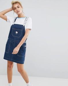 Платье-сарафан Lazy Oaf X Hello Kitty - Синий
